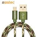 Bastec camuflaje andriod teléfono móvil cable micro usb cable de carga rápida 1 m 2 m 3 m usb cable de datos para samsung htc lg