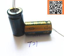 1pcs/lot T21 Low ESR/Impedance high frequency 35v 1500UF aluminum electrolytic capacitor size 13*25 1500UF35V