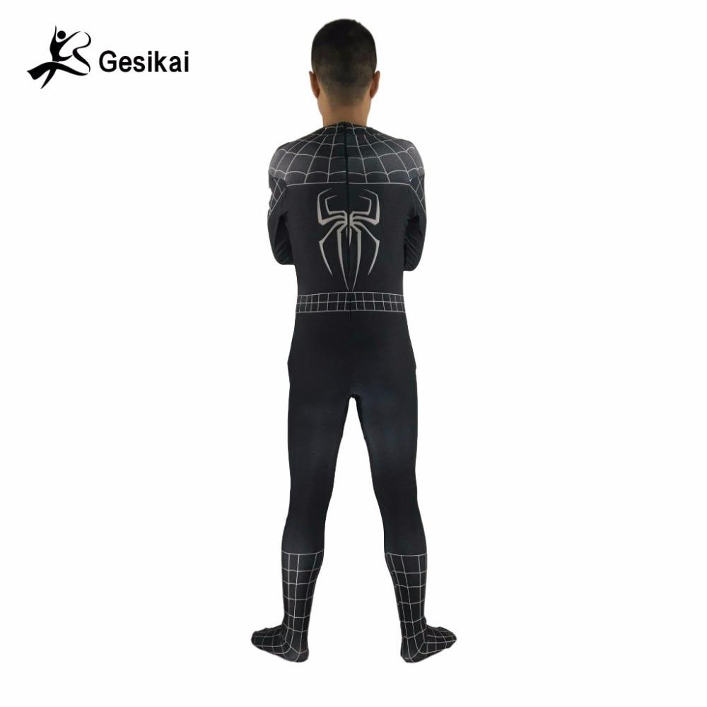 24 ժամ Առաքում տղամարդկանց Spiderman - Կարնավալային հագուստները - Լուսանկար 5