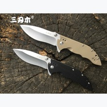 Sanrenmu 9054 12C27 Blade Folding Knife G10 Handle Outdoor Traveling Venturing Collection Gift Survival Utility EDC Pocket Knife