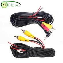 Iaotugo 6 м 2,5 мм Jack/RCA видео кабель для gps навигатор, 6 м 4 Pin видео кабель для Видеорегистраторы для автомобилей Регистраторы 4 Pin видео кабель-удлинитель