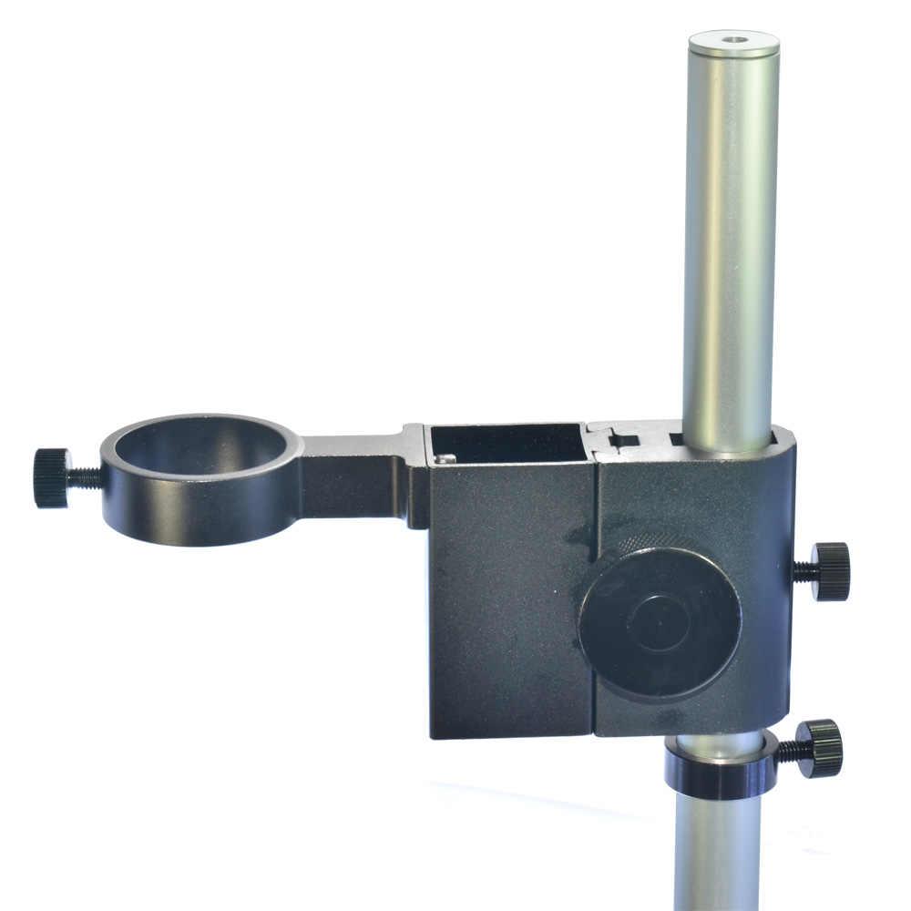 HAYEAR микроскоп кронштейн 40 мм Большой Регулируемый стерео цифровой микроскоп объектив настольная подставка двойное кольцо держатель для промышленности лаборатории