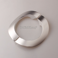 Brand New 1Pair Aluminium Alloy Glass Door Handles Home Office Shower Push/Pull Sliding Length 250mm/9.84