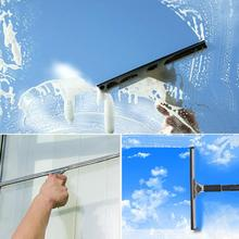 new Shower Screen Mirror Window Cleaning Squeegee Double Blade Cleaner Smear Free Window Squeegee #22