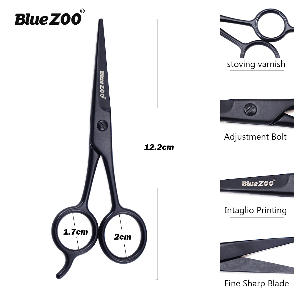Stainless Steel Facial Hair Scissors For Men Moustache Scissor Beard Trimming Grooming Scissors Safety Use Beard Care Tool
