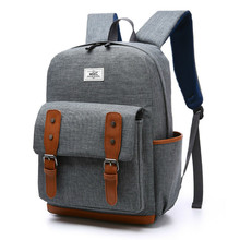 New Vintage Men Women Canvas Backpacks Preppy Style School Boy and  Girl Student School Laptop Bag Mochila Bolsas stacy bag hot sale girl vintage backpack preppy style student school bag