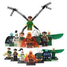 DC Marvel Super Heroes Action Figures Building Blocks Toys Batman Deadpool Superman iron man Minifigures compatible with lego