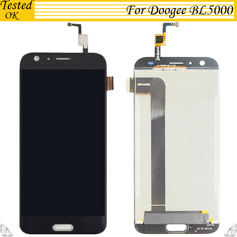Tested OK For Doogee BL5000 LCD Display and Touch Screen Screen Digitizer Assembly Replacement For Doogee BL 5000 LCD ScreenTested OK For Doogee BL5000 LCD Display and Touch Screen Screen Digitizer Assembly Replacement For Doogee BL 5000 LCD Screen