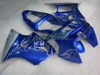 Aftermarket body parts fairings for Kawasaki ZX6R 1998 1999 dark blue fairing kit Ninja 636 ZX 6R 98 99 +7 gifts NM06