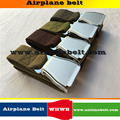 Perfecto avión cinturón de seguridad hebilla de metal cinturón de moda correa de los hombres vendedores calientes canvas correa de los pantalones vaqueros pantalones pantalones envío libre de la correa