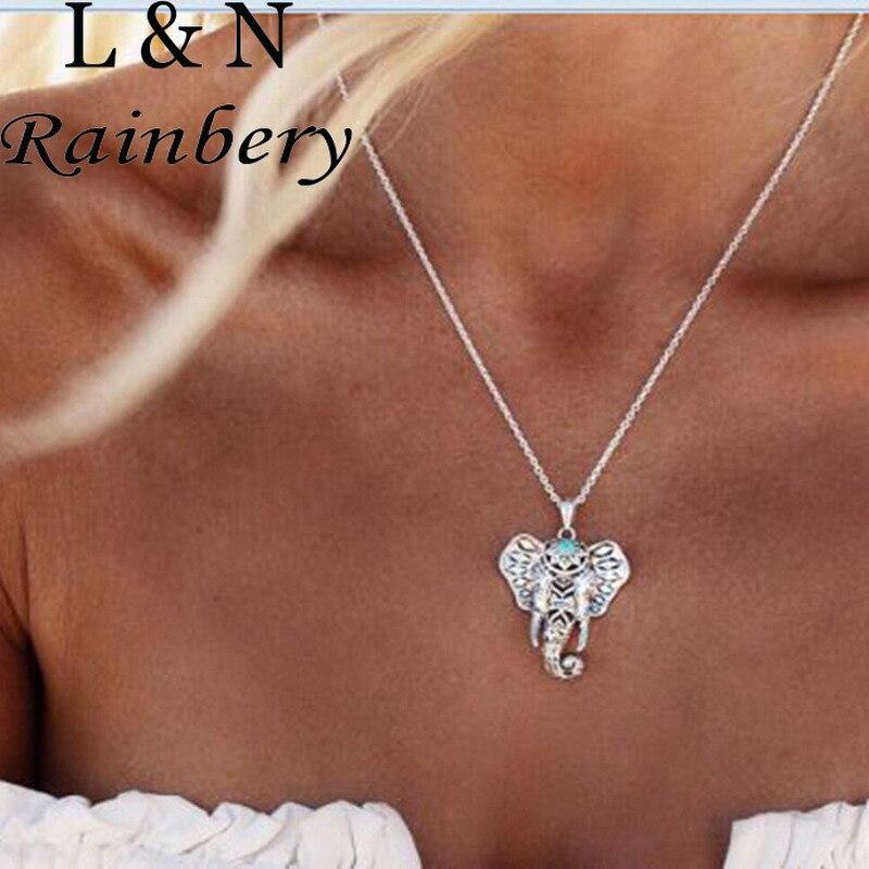 Rainbery Boho Античная Ожерелья для мужчин Подвески ...
