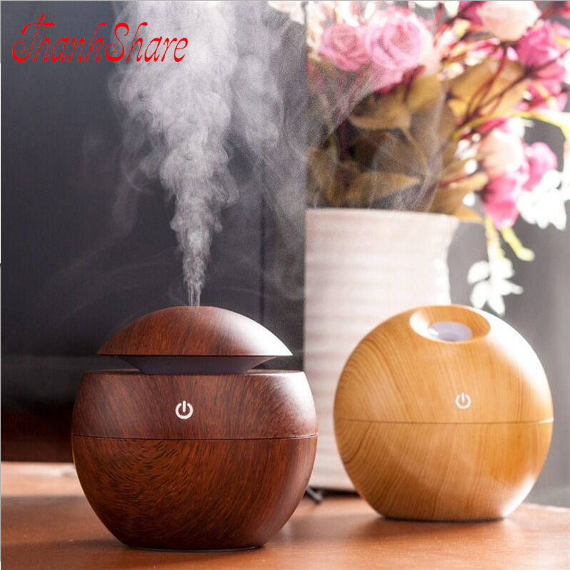USB Aroma Essential Oil Diffuser Ultrasonic Humidificador Mist Mist Aroma Air Humidifier Air Purifier for Home Office Bedroom