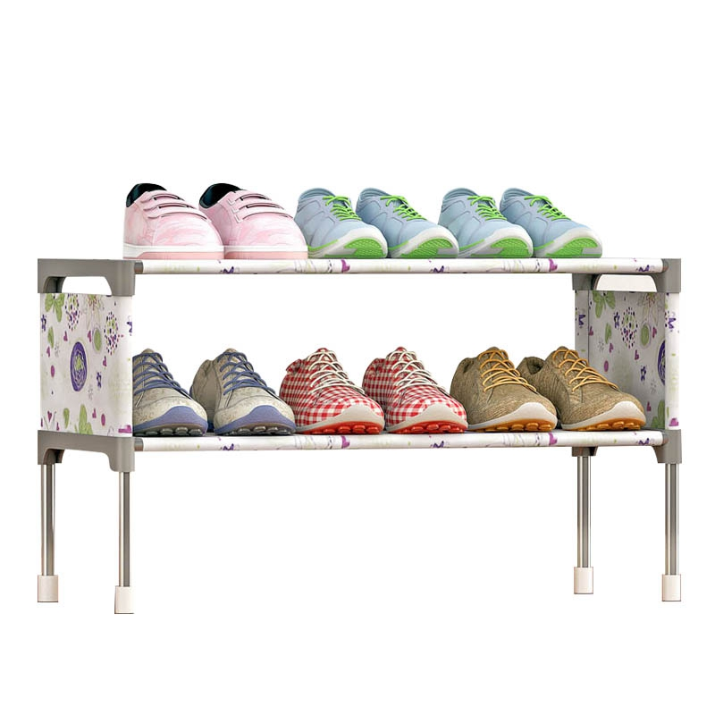 2 Layer Shoe Racks Shoe Organizer Stand Holder Cabinet Organizer Space Saving Shoe Cabinet Shelves Home Furniture Living Room mini 3 in 1 charger kit us plug usb power adapter car charger 2m usb cable for iphone ipod