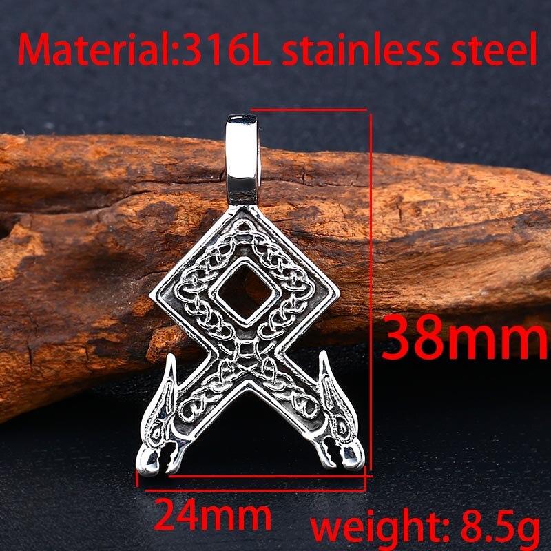 Collier Viking Rune 2