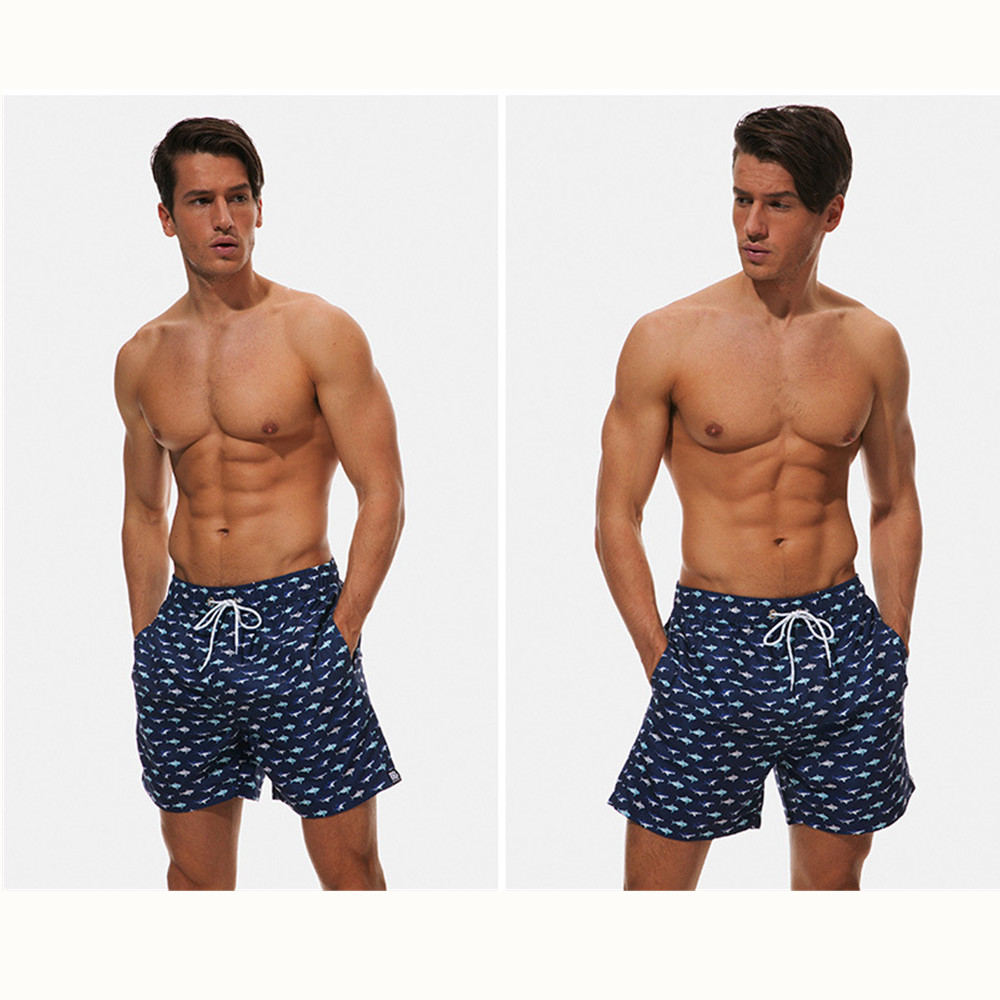 Beach pants for men Breathable, loose-fitting, quick-drying sports shorts Beach shorts swimming trunks