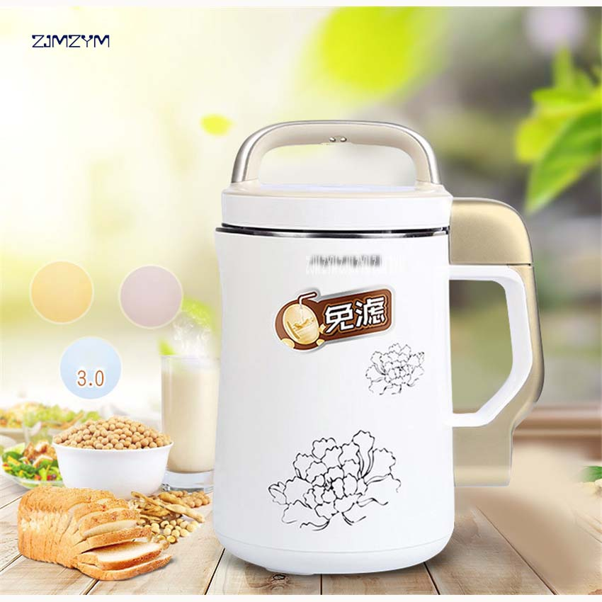 1PC Multifuctional soymilk Soy Milk Maker 1300ml DJ13B-C639SG soya bean Soybean machine Juicer 220V/50HZ 304 stainless steel цена и фото