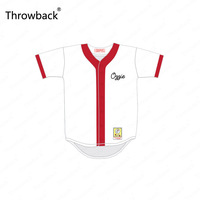 Ozzie Smith 1 Roger Clemens 21 Springfield Nuclear Power Plant Softball Team Throwback Movie Baseball Jersey