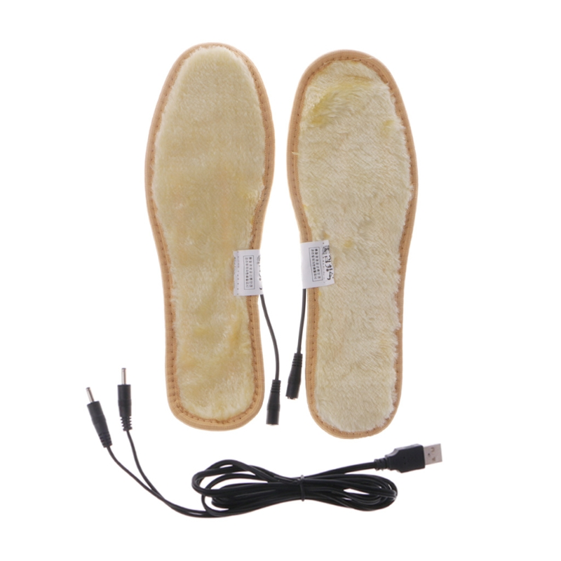 EYKOSI Heated Shoe Insoles USB Electric Powered Film Heater Feet Warm Socks Pads Foot expfoot orthotic arch support shoe pad orthopedic insoles pu insoles for shoes breathable foot pads massage sport insole 045