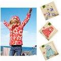 Muchachas de la marca chaquetas con capucha zanja flor prendas de vestir exteriores para niños niños de la capa impermeable ropa de primavera chaquetas impermeables