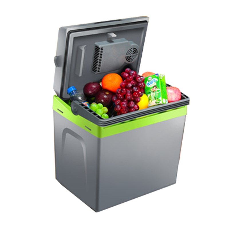 25L Portable Mini Refrigerator Dual Purpose Car Refrigerator Household / Dormitory Refrige Freezer KM-25LH 12l car refrigerator portable pig semen thermostat machine mini household livestock refrigerator 12l4
