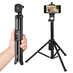 Image 2 - 3 in 1 Yunteng 1688 Bluetooth Remote Shutter Portable Handle Selfie Stick Mini Table Tripod For IOS Android Iphone Samsung Gopro