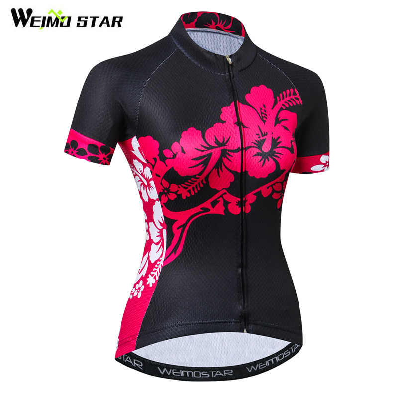 Weimostar 2019 Summer Cycling Jersey Shirt Women Team Bicycle Clothing Ropa Ciclismo Quick Dry mtb Bike Jersey Maillot CiclismoWeimostar 2019 Summer Cycling Jersey Shirt Women Team Bicycle Clothing Ropa Ciclismo Quick Dry mtb Bike Jersey Maillot Ciclismo