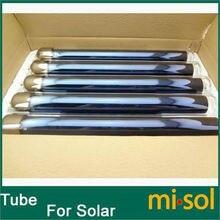 10 единиц вакуумных трубок для солнечного водонагревателя, эвакуированных трубок для солнечного