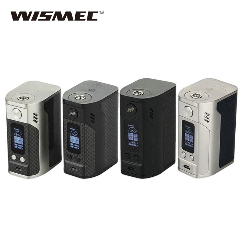 Original WISMEC Reuleaux RX300 TC Mod 300W rx300 Box Mod powered by 4 18650 batteries E-Cigarette Vape Mod vs RX200/RX200S RX2/3 original smoant charon 218w tc box mod firmware upgradable 218w vape mod powered by dual 18650 batteries with three memory mode