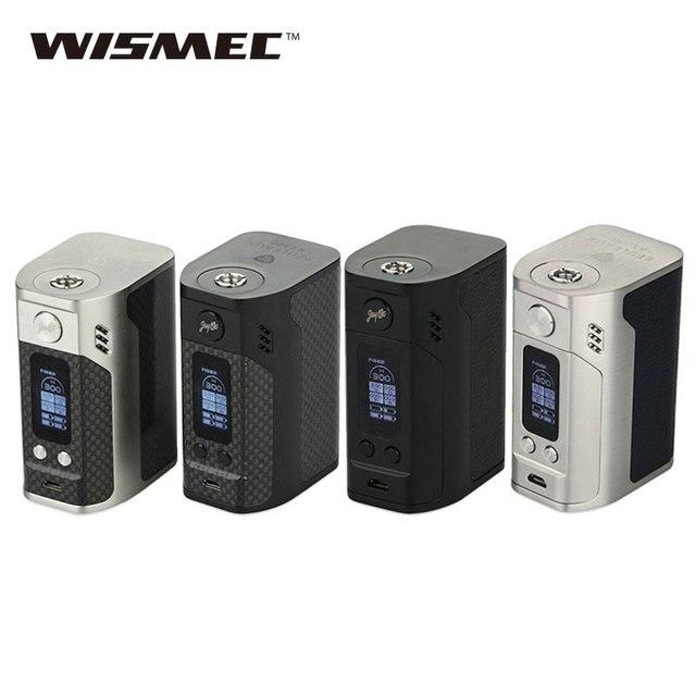 Оригинальный wismec Рел RX300 TC mod 300 Вт RX300 поле mod Создано 4 18650 батареи электронной сигареты VAPE mod VS RX200/RX200S RX2/3