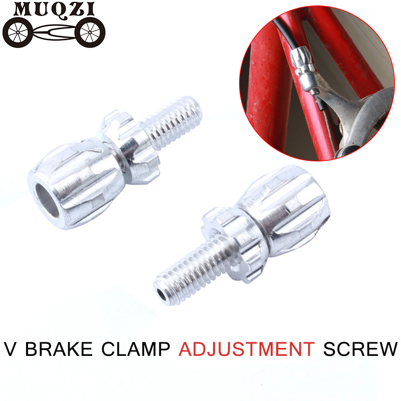 MUQZI 4pcs Dead Fly Bicycle Road Bike Brake Cable Adjuster Screw  Fine Adjustment Screw Clamp Adjuster Fine Adjustment Screw