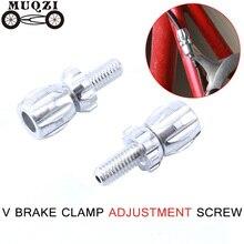 MUQZI Dead Fly Bicycle Road Bike Brake Cable Adjuster Screw  Fine Adjustment Clamp