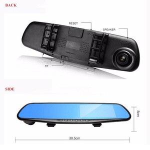 Image 3 - 4.3インチ車dvrミラー1080 1080pデュアルレンズダッシュカメラ自動運転ビデオレコーダーとリアビューカメラ車ダッシュカム