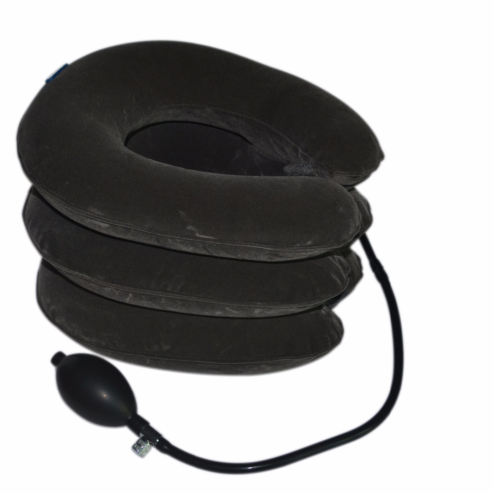 Air Cervical Soft Neck Brace Device Inflatable Collar Household Equipment Velvet Health Care Comfortable Neck Massage Relaxation air cervical soft neck brace device inflatable collar household equipment velvet health care comfortable neck massage relaxation