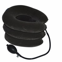 Air Cervical Soft Neck Brace Device Inflatable Collar Household Equipment Velvet Health Care Comfortable Neck Massage