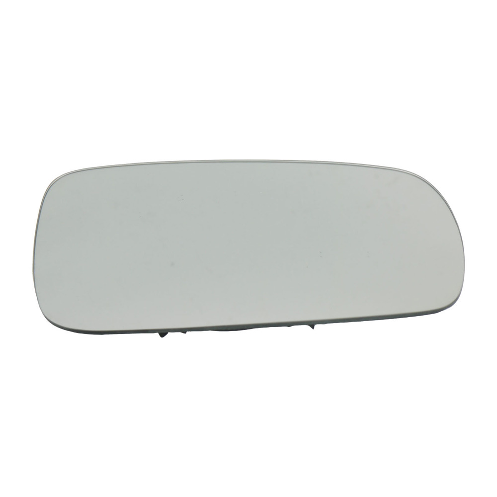 FOGalaxy 2007 to 2015 Heated Driver Side Silver Wide Angle Door Mirror Glass Including Base Plate RH