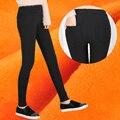 2017 XXXL леггинсы теплые более высокий уровень ткань леггинсы утолщение брюки высокой талии тощие брюки зима брюк