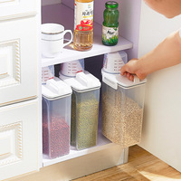 Domestic kitchen seal storage jar Ricer box container insect prevention dampproof Cereals flour storage box cereal dispenser