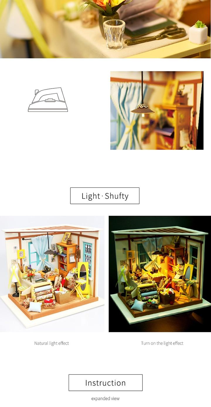 DIY Week's Dollhouse CNY 4