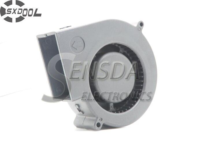 SXDOOL yüksek kalite 9733 9 cm DC 12 V 0.85A Güçlü rüzgar 2 Tel Fırçasız DC Soğutma hava fanı Turbo blower
