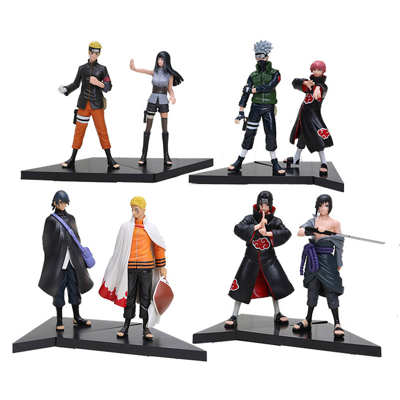 Naruto Shippuden Kakashi Hatake /& Sasori 2 Pcs Action Figures Set Toys Gift
