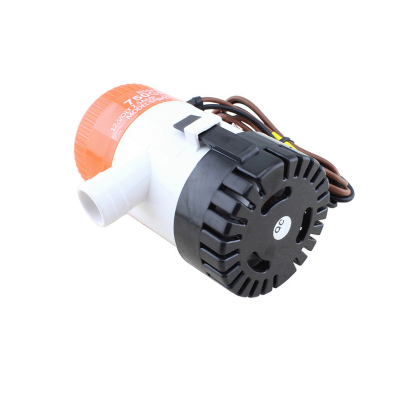 Image 2 - 750 GPH Non Automatic Bilge Pump 12V DC Marine Boat Submersible Pump Drain Pump Boat Accessories Marine-in Marine Hardware from Automobiles & Motorcycles