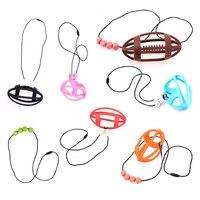 Baby Infant Toddler Dental Care DIY Bracelet Kids Mom Soft Silicone Gel Jewelry Decor Baby Teether