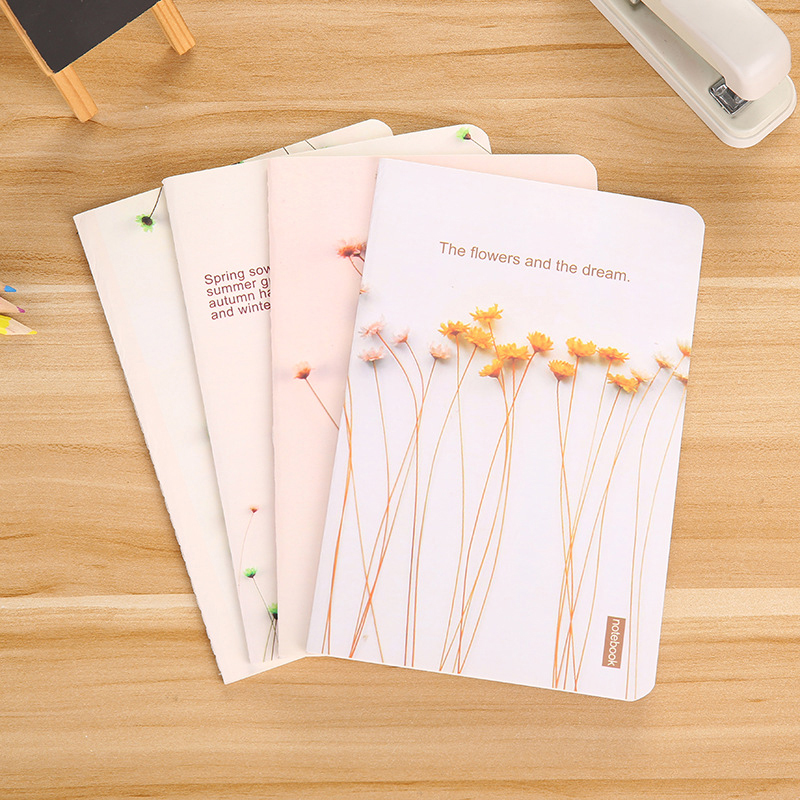 A5 Schedule Book Diary Notebook School Office Supplies Stationery