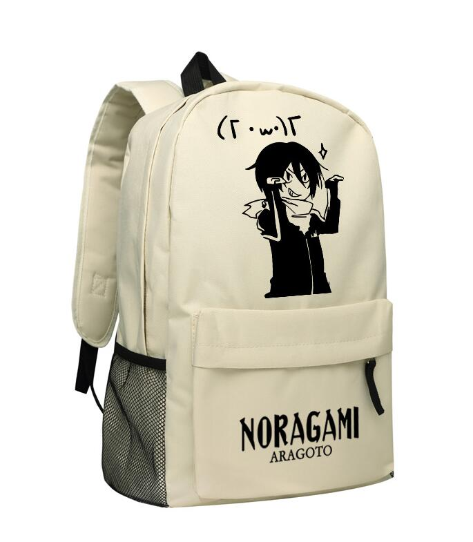 Harajuku Japanese Anime Noragami ARAGOTO YATO Cosplay Printing Canvas  Backpack School Backpacks for Teenage Girls School Bags-in Backpacks from  Luggage ... 9edd97f0fff45