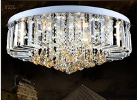 Rectangular oval led suction Hall Project crytal lights ceiling aisle ceiling lamp living room lighting ceiling Restaurant