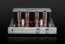 YAQIN MC-5881A Integrated vacuum tube amplifier 5881Ax4 ultra-linear power amplifier 2x23W 110V/220V vacuum tube headphone amp