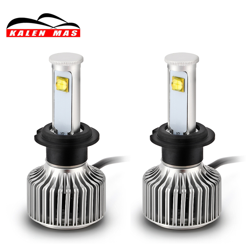 KALEN MAS car headlight h4 h7 led h1 h3 h11 9004 9005 9006 9007 auto bulb 55W 8000lm 6000k headlamp super bright car headlight led h4 h7 h11 72w 8000lm 6000k led h1 h3 h13 9005 9006 9004 880 9007 auto cob bulb automobiles headlamp car light
