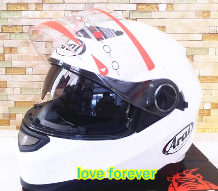 Motorcycle helmet full face Japan arai helmet Male and female knight run motorcycle helmets warm all