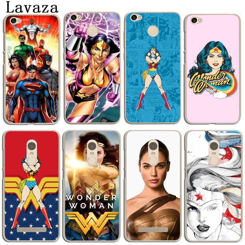 Lavaza dc аниме чудо-женщина телефон чехол для сяо mi красный mi 4X mi A1 6 5 5X 5S плюс примечание 5A 4A 2 3 3 s 4 4X Pro премьер mi A1 mi 6 крышка
