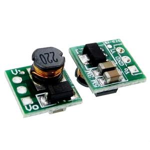 DC 1,8 V 2,5 V 3 V 3,3 V 3,7 V a 5 V aumento de voltaje de la fuente de alimentación regulador de Módulo de placa de convertidor Boost 18650 batería de Li-on